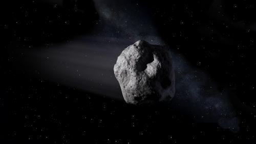 Un asteroid de dimensiuni mari şi mica sa lună au trecut recent prin apropierea Pământului