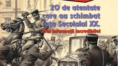 """Miercuri, 12 iunie, Jurnalul îţi oferă o carte cu dezvăluri impresionante:""""20 de atentate care au schimbat fața Secolului XX"""""""