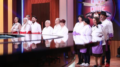 Surorile Crudu s-au calificat în finala sezonului special Chefi la cuţite. Emisiunea, lider de audienţã la nivelul publicului comercial