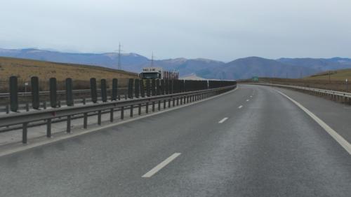 Infotrafic: Circulaţia reluată pe Autostrada Soarelui, după tamponarea din zona localităţii Borcea
