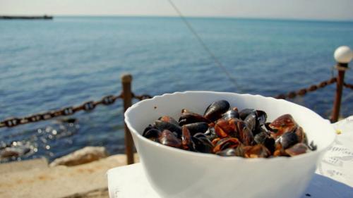Festin cu fructe de mare, la Dalboca