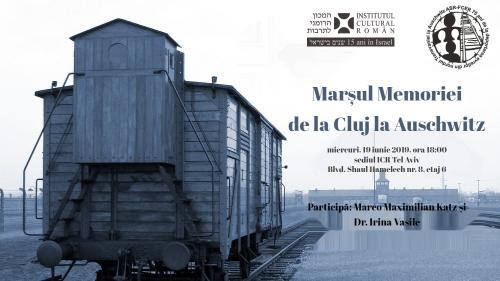 Simpozion dedicat Marșului Memoriei de la Cluj la Auschwitz, la sediul ICR Tel Aviv