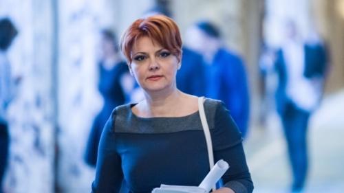 """Lia Olguța Vasilescu atacă PNL: Ei nu vor pensii mai mari. Le încurcă """"viziunea economică""""..."""