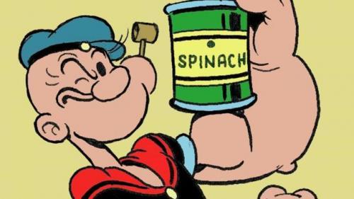 Puterea lui Popeye Marinarul: O substanţă din spanac sporeşte forţa musculară