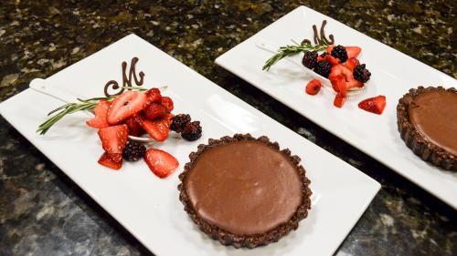 Tartă cu ciocolată dietetică, delicioasă și sănătoasă
