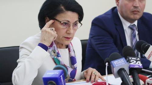 Ecaterina Andronescu: Este pregătită noua lege a educaţiei, probabil că o vom numi Codul educaţiei