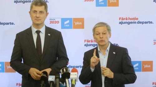 Anunț USR-PLUS. Dan Barna, candidatul la prezidenţiale, iar Dacian Cioloş, validat pentru funcţia de premier