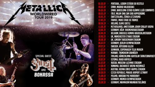 """Concert Metallica 2019. Legendara trupă de heavy-metal susţine un concert la Bucureşti în cadrul turneului """"Worldwired Tour 2019"""""""