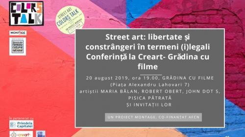 Street art: libertate și constrangeri in termeni (i)legali
