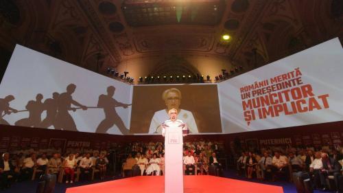 Viorica Dăncilă, desemnată candidat al PSD la alegerile prezidenţiale