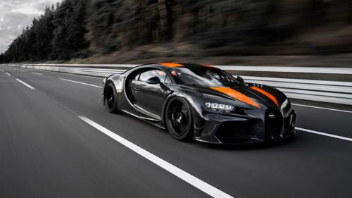 Record de viteză. Bugatti a atins 490.48 km/h