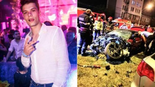 Ce s-a ales de mașina lui Mario Iorgulescu. Bolidul de lux a fost complet distrus în urma accidentului