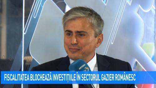 VIDEO Fiscalitatea blochează investițiile în sectorul gazier românesc