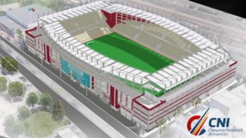 Construcția stadionului Rapid-Giulești, mai scumpă cu 90 milioane lei
