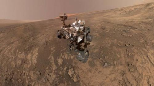 NASA a descoperit urme de lacuri saline pe planeta Marte