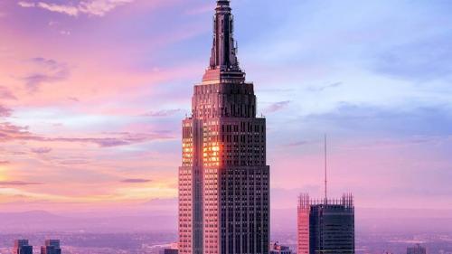 New York: Empire State Building își redeschide observatorul de pe acoperișul clădirii