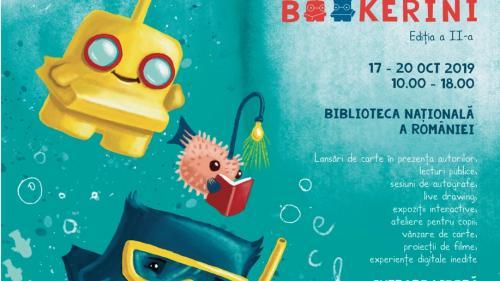 Începe a doua ediție a târgului internațional de carte pentru copii BOOKerini