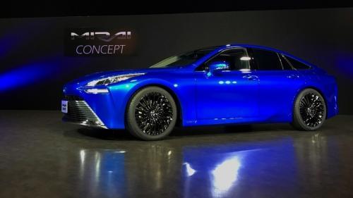 Cum va arăta noua Toyota Mirai