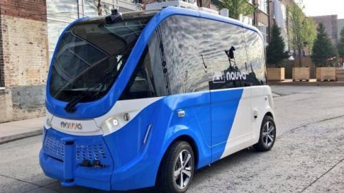 Primele autobuze fără șofer vor fi introduse la Cluj Napoca din 2020