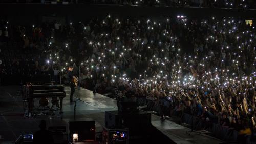 Bryan Adams în concert la Cluj Napoca