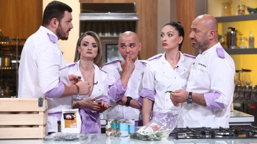 Chef Iosif Ștefănescu face echipă cu chef Sorin Bontea în cea de-a patra confruntare