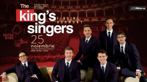 The King's Singers prezintă 'Finding Harmony', în concert extraordinar la Opera Națională Română din Cluj-Napoca