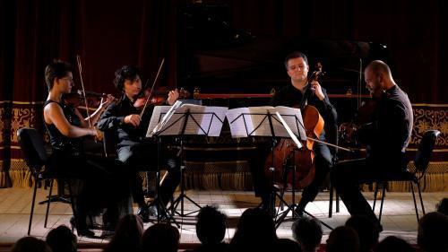 """""""Drama per musica"""" cu Cvartetul Arcadia la Palatul Tinerimea Română"""