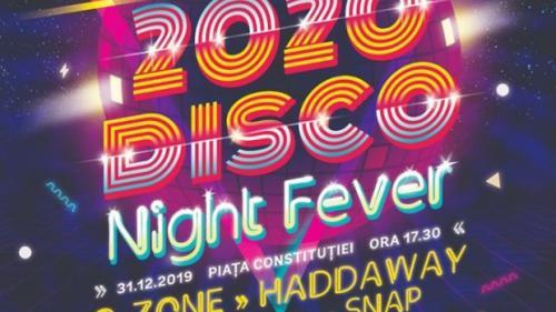 """București, cea mai mare scenă disco din țară la """"Revelion 2020. Disco Night Fever"""""""