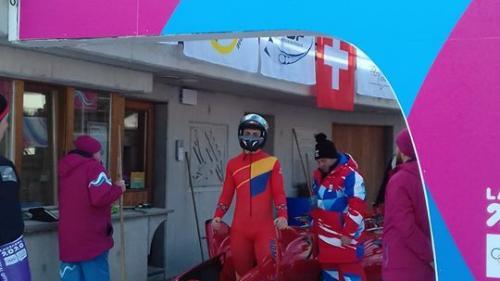 Andrei Nica a câștigat medalia de aur la monobob, în cadrul JO pentru Tineret de la Lausanne