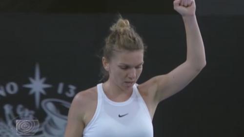 Victorie pentru Simona Halep în primul tur la Australian Open