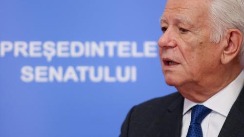 CCR a decis: Alegerea lui Teodor Meleșcanu la șefia Senatului este neconstituțională