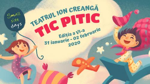 Mini-maraton de teatru special pentru copiii cu vârsta sub 6 ani