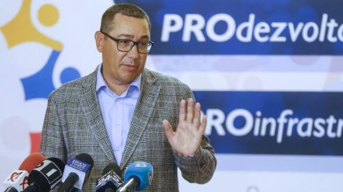 Victor Ponta spune că nu a făcut Pro România pentru a se întoarce în PSD