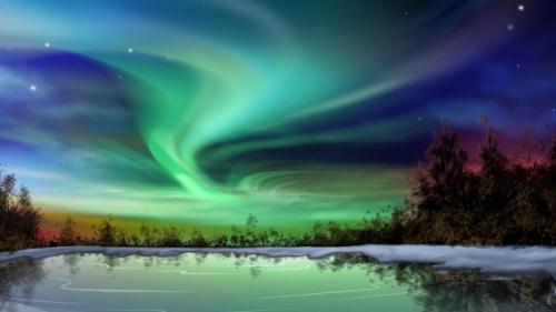 A fost descoperit un nou tip de auroră boreală