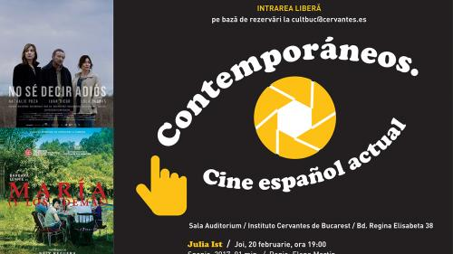 CONTEMPORANI. Filme spaniole actuale, în februarie, la Institutul Cervantes din București