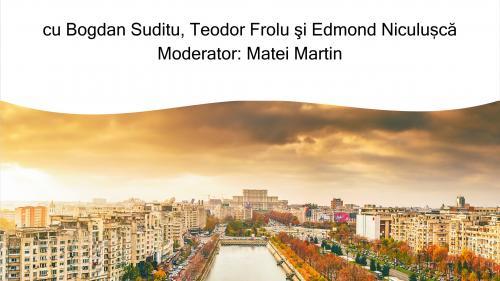 """Conferința """"București, oraș european"""""""
