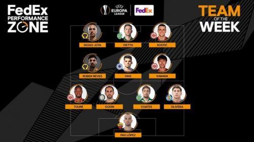 Ianis Hagi, inclus în echipa săptămânii în Europa League