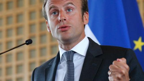 Macron cere organizare urgentă a unei reuniuni pentru Siria