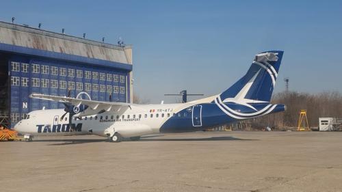 Un avion ce efectua o cursă Bucureşti-Cluj a fost întors din drum