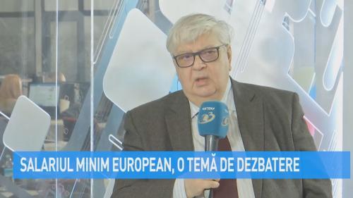 VIDEO Salariul minim european, o temă de dezbatere