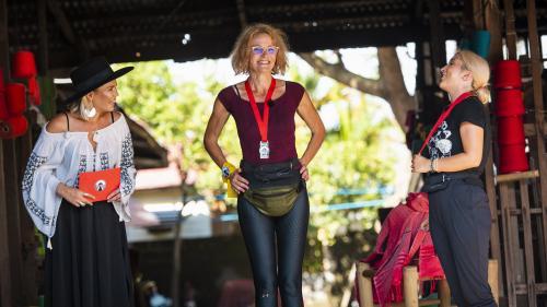 Aseară, când show-ul a fost lider de piață,Alina Ceușan și Carmen Grebenișan au câștigat imunitatea la Asia Express- Drumul Comorilor