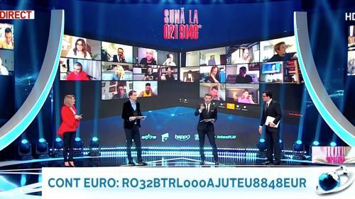 Lecție de solidaritate la Antena 3: Teledonul care a mobilizat și a unit românii