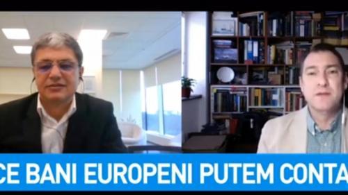 Video. Jurnalul de economie. Marcel Boloș explică ce bani europeni pot fi folosiți în criza coronavirus