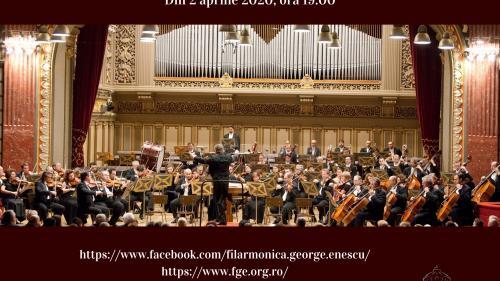 """Filarmonica """"George Enescu"""" anunță înființarea canalului propriu pe YouTube"""