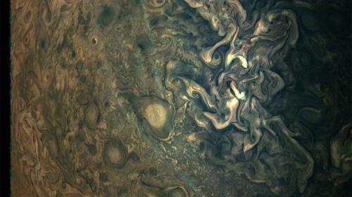 Imaginea uimitoare cu atmosfera planetei Jupiter care a creat savanţilor noi semne de întrebare