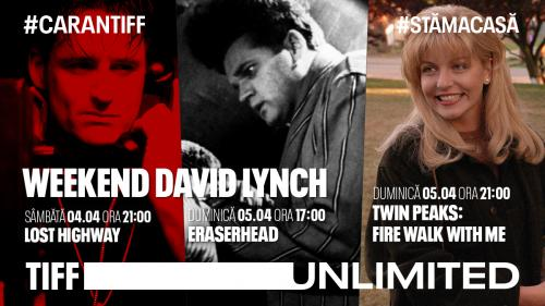 Un weekend cu inconfundabilul David Lynch,  pe TIFF Unlimited
