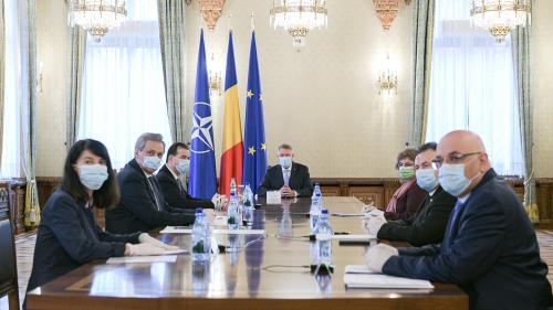 O nouă ședință de urgență la Palatul Cotroceni pentru evaluarea măsurilor luate în lupta cu noul coronavirus