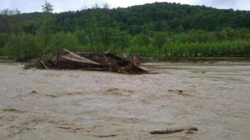 Cod galben de inundații în patru județe