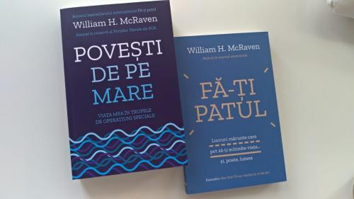 """William McRaven: """"Singurul lucru mai contagios decât virusul este speranța!"""""""
