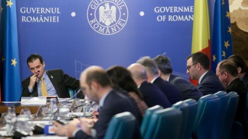 Ședința de Guvern de miercuri dimineață, suspendată. Va fi reluată după reuniunea CSAT